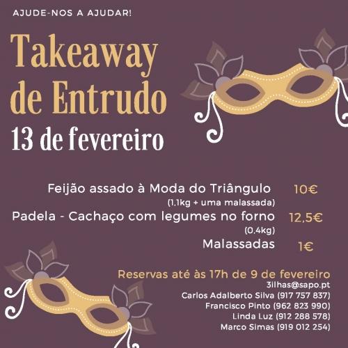Takeaway - Entrudo - 13 fevereiro 2021