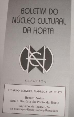 Boletim do Núcleo Cultural da Horta